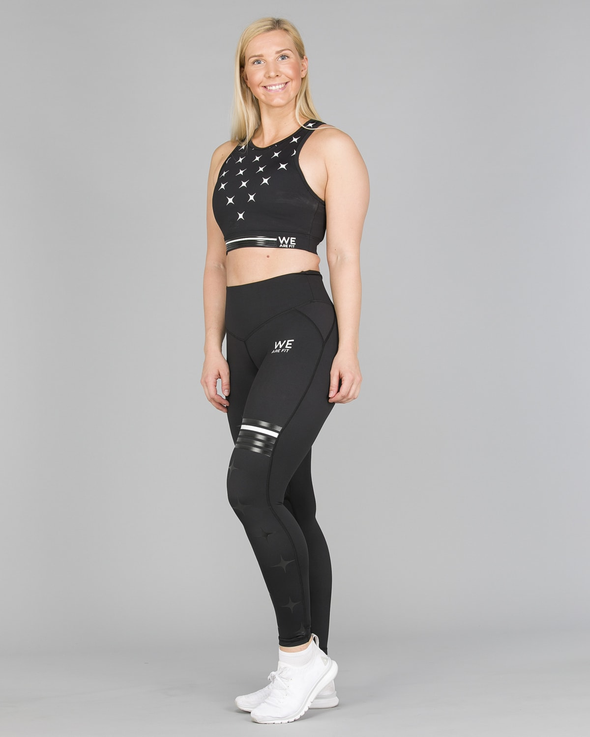 We Are Fit Star Black Tights12