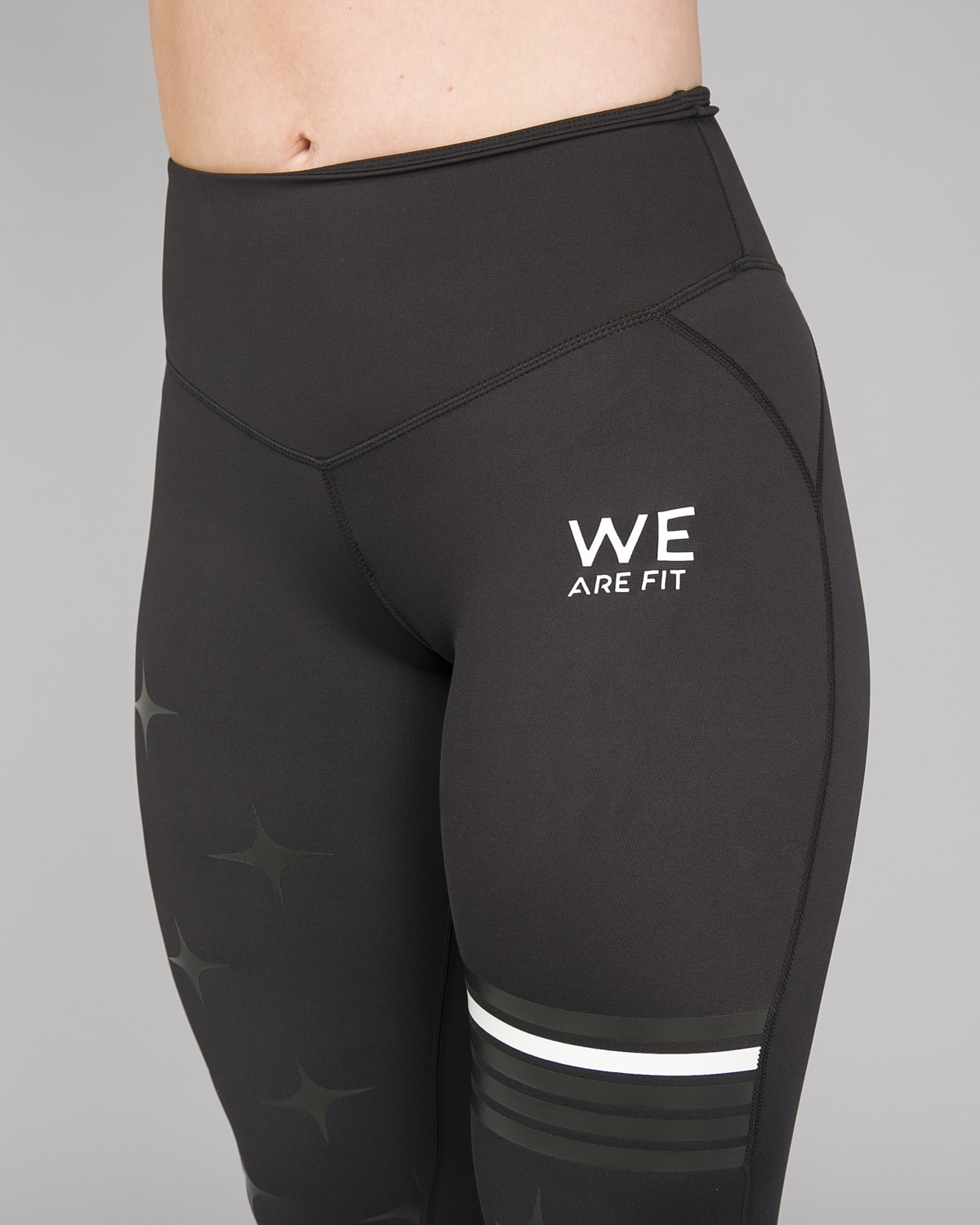 We Are Fit Star Black Tights8