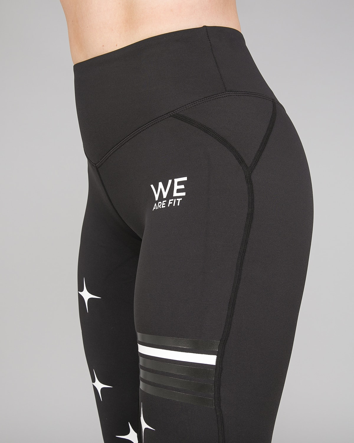 We Are Fit Star White Tights6