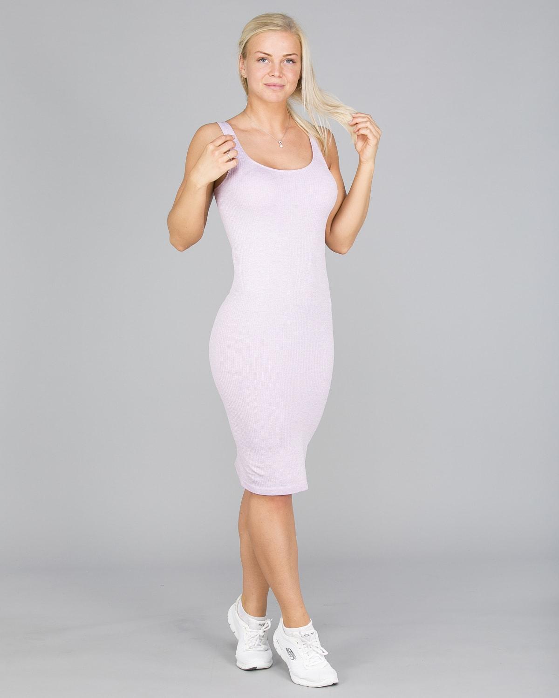 Aim'n Purple Ribbed Seamless Dress10