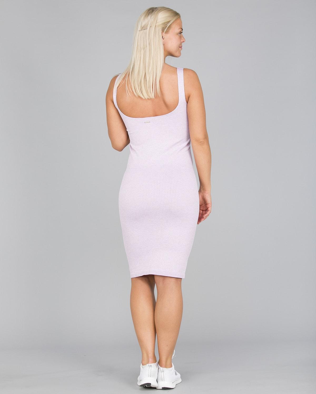 Aim'n Purple Ribbed Seamless Dress4