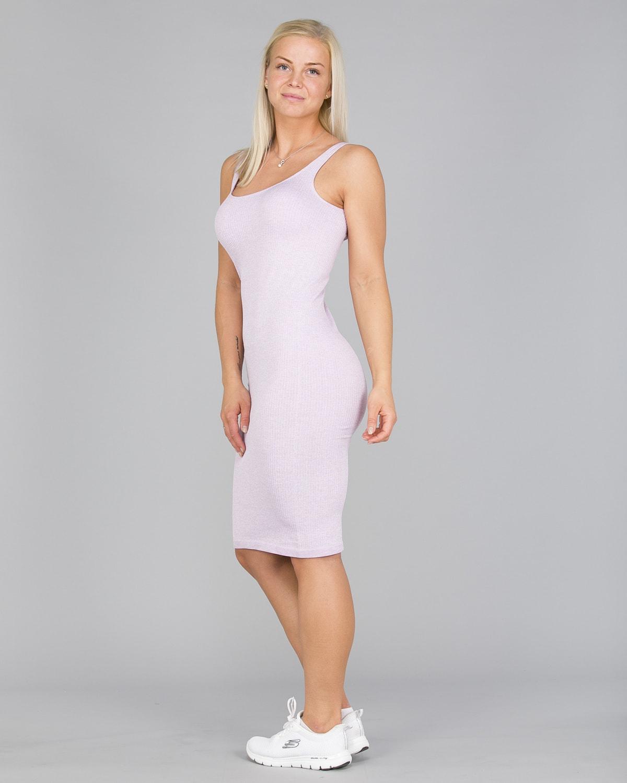 Aim'n Purple Ribbed Seamless Dress5