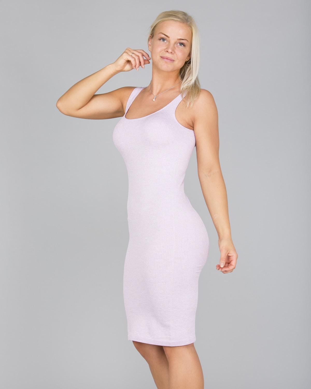 Aim'n Purple Ribbed Seamless Dress6