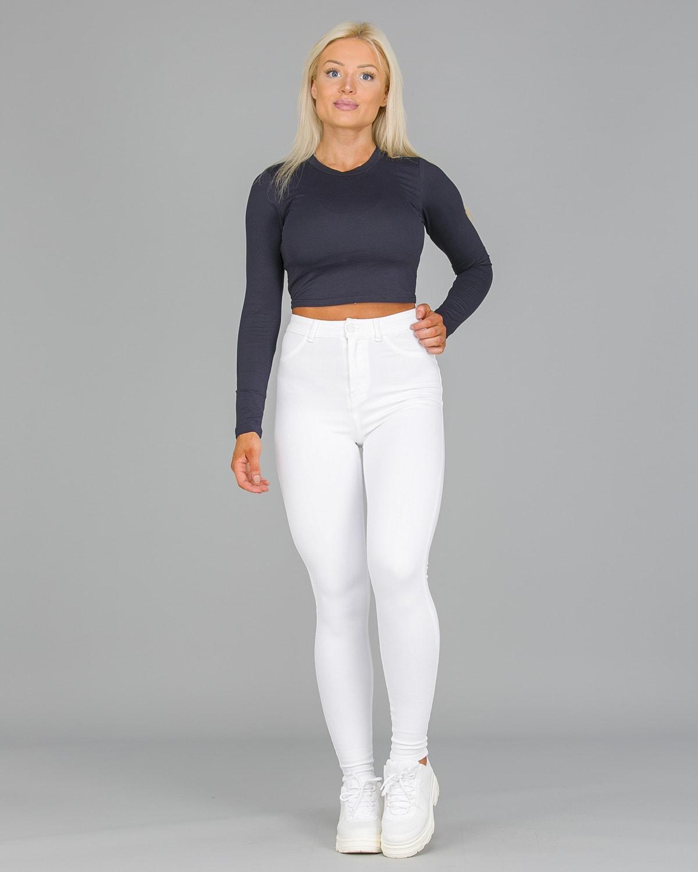 FAMME – 4Flex Jeans – White1