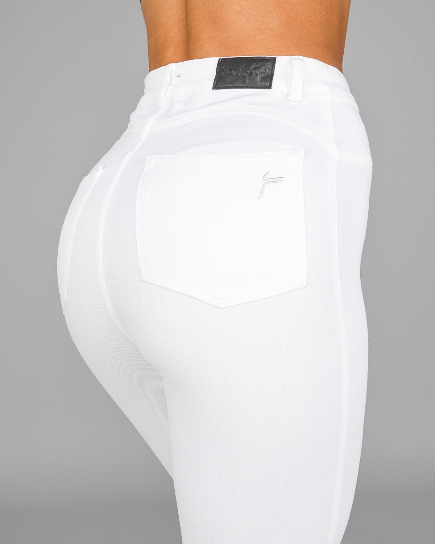 FAMME – 4Flex Jeans – White19