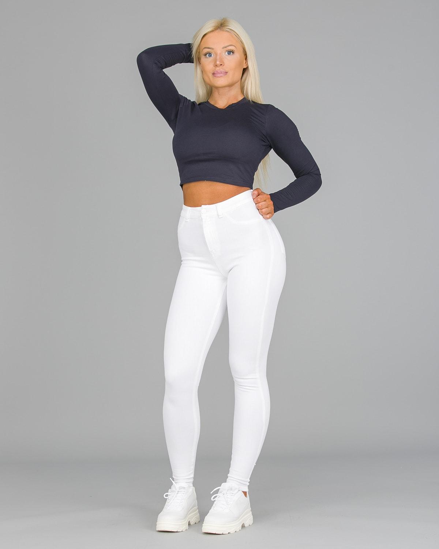 FAMME – 4Flex Jeans – White2