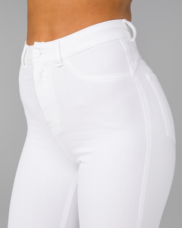 FAMME – 4Flex Jeans – White21