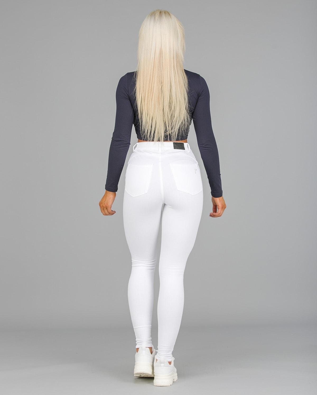 FAMME – 4Flex Jeans – White3