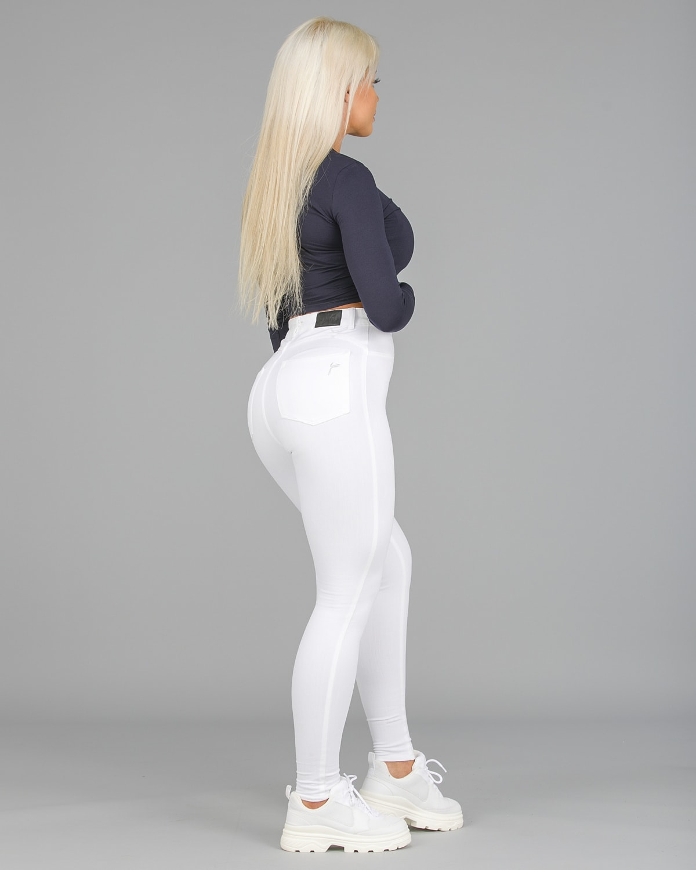 FAMME – 4Flex Jeans – White4