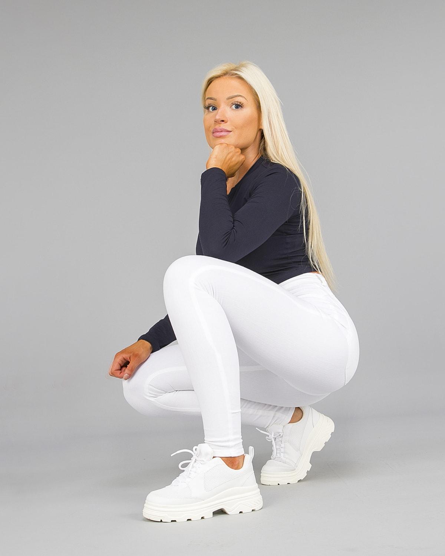 FAMME – 4Flex Jeans – White8