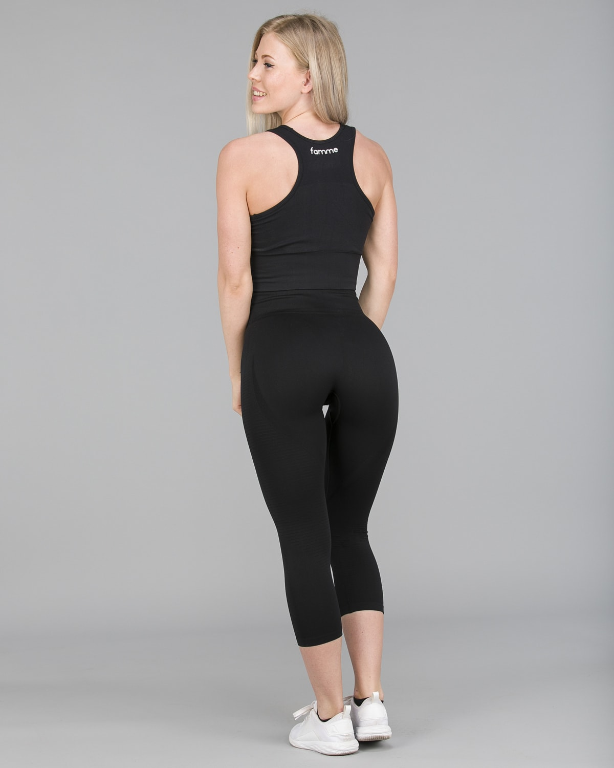 FAMME – Vortex Leggings 7:8 – Black5