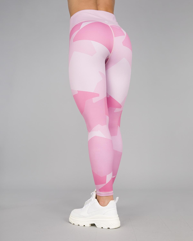Workout Empire – Camo Shape Leggings – Wood Rose4