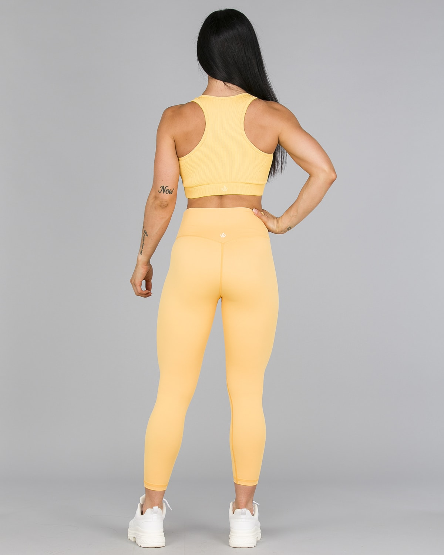 Workout Empire – Core 7:8 Leggings – Buff Yellow4