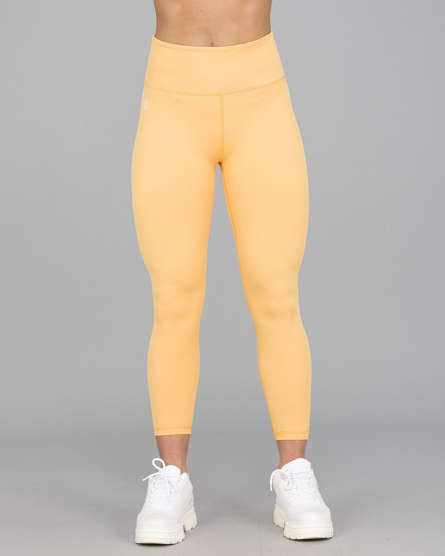 Workout Empire – Core 7:8 Leggings – Buff Yellow6