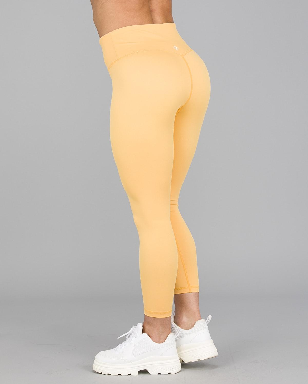Workout Empire – Core 7:8 Leggings – Buff Yellow7