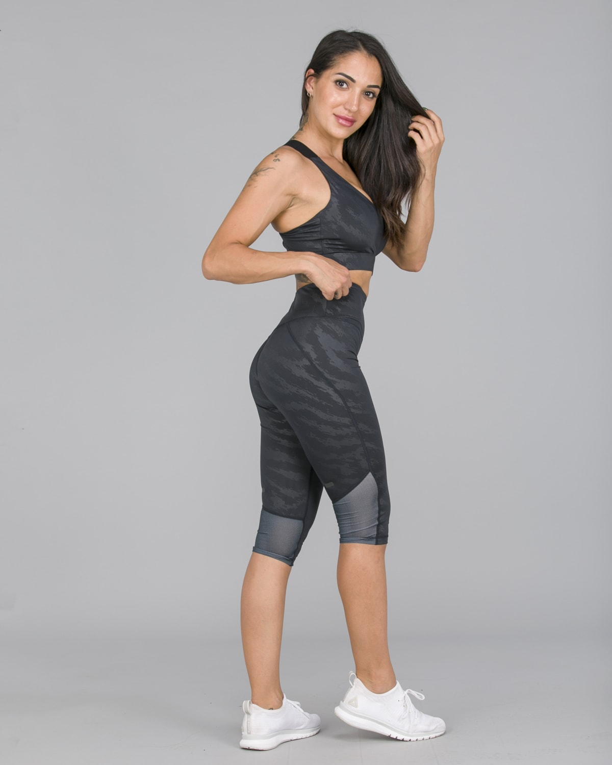 Workout Empire – Elevate 3:4 Leggings – Svart3
