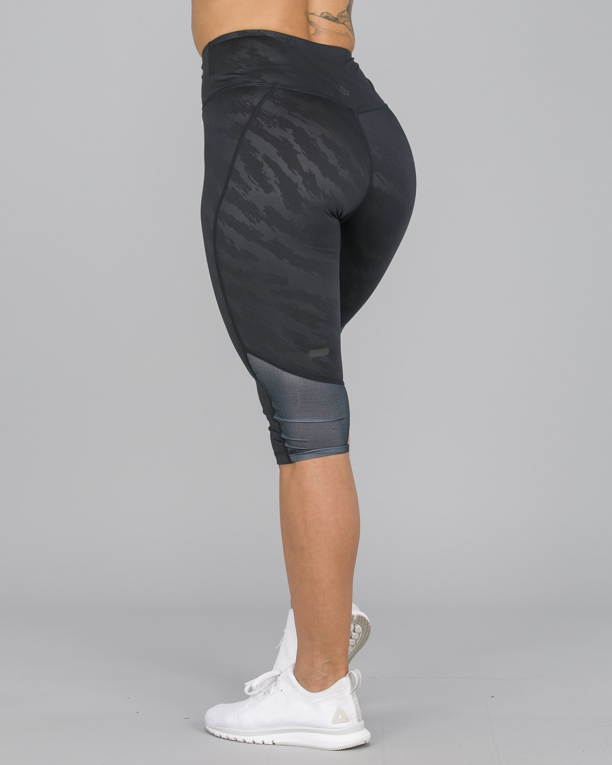 Workout Empire – Elevate 3:4 Leggings – Svart9