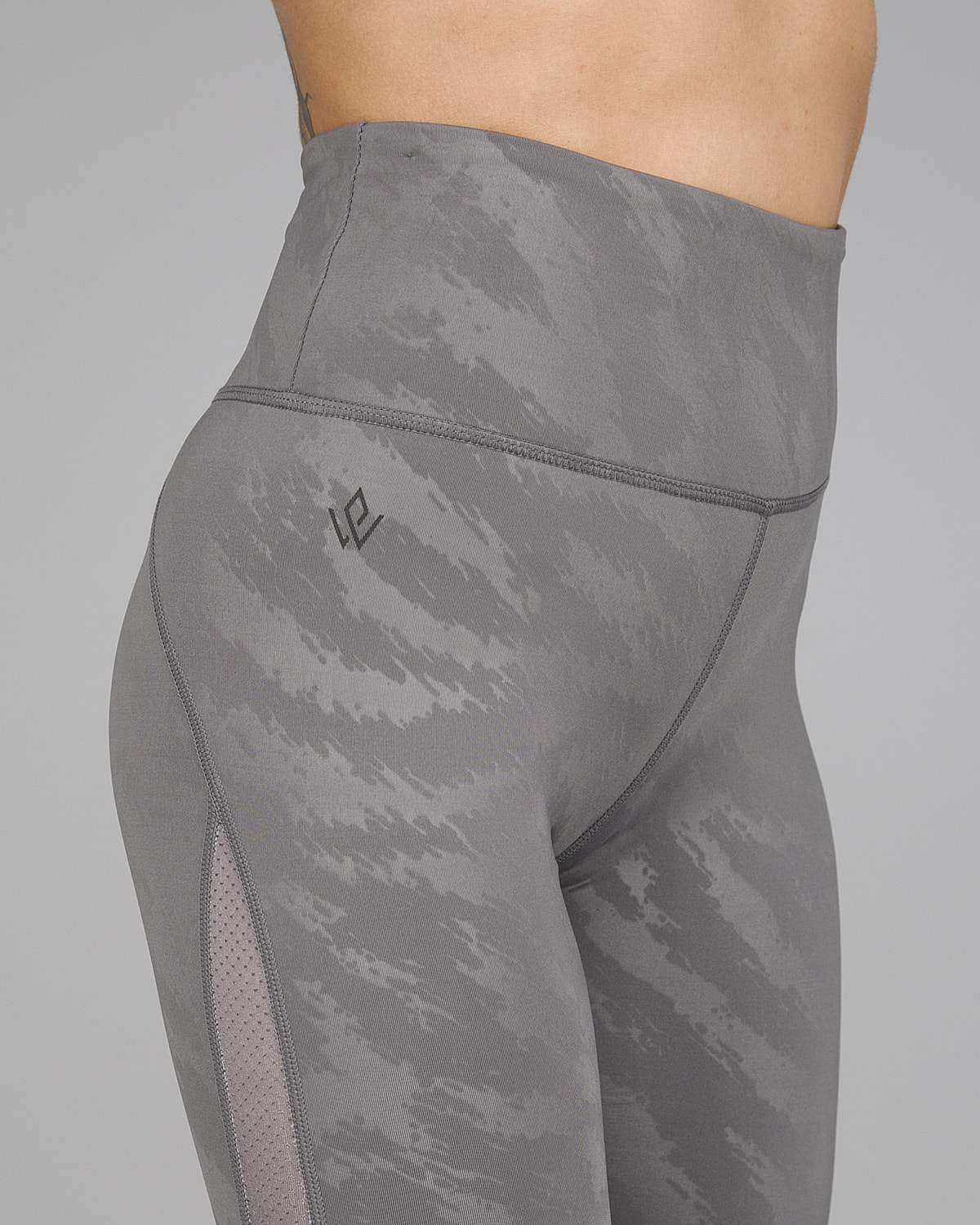 Workout Empire – Elevate Leggings – Silver2