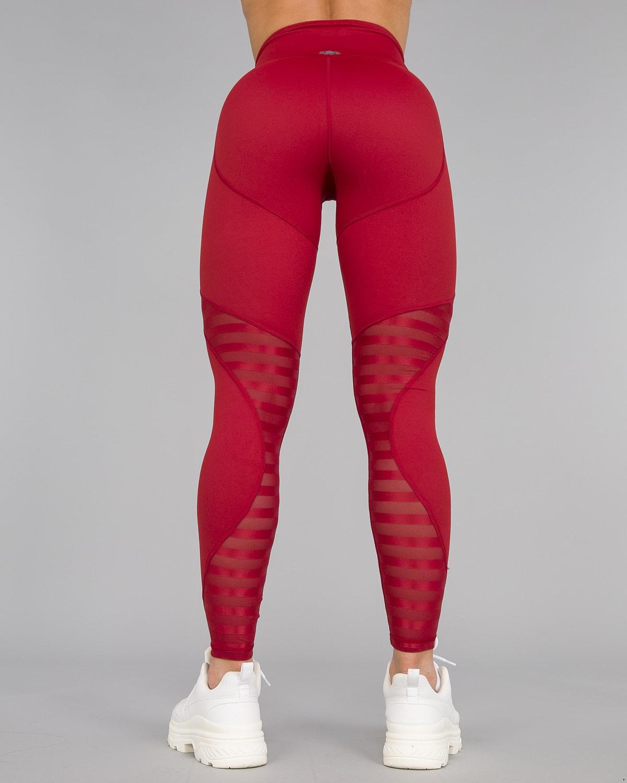 Workout Empire – Herrstedt Leggings – Mars Red13
