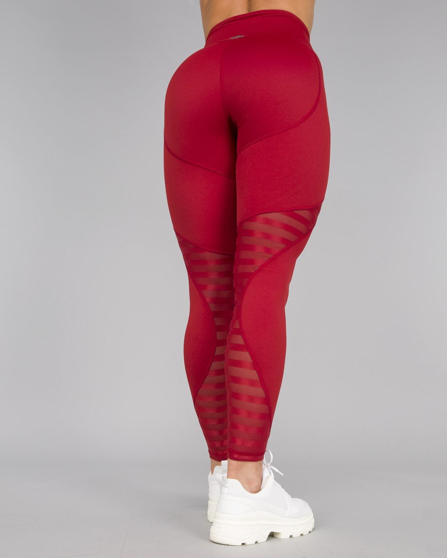 Workout Empire – Herrstedt Leggings – Mars Red15