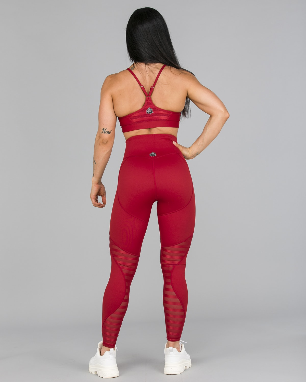 Workout Empire – Herrstedt Leggings – Mars Red4