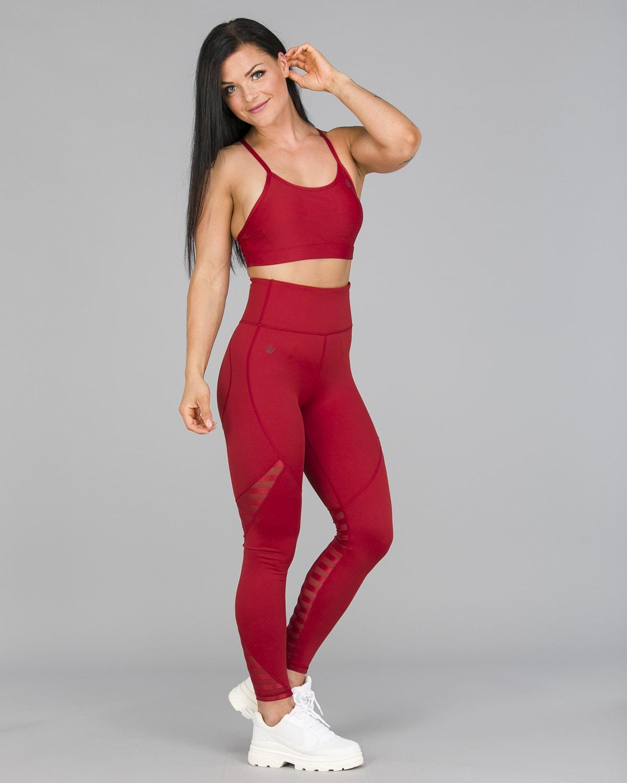 Workout Empire – Herrstedt Leggings – Mars Red5