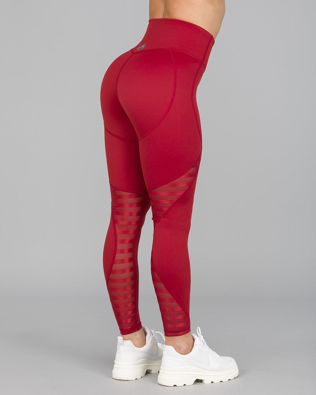 Workout Empire – Herrstedt Leggings – Mars Red9