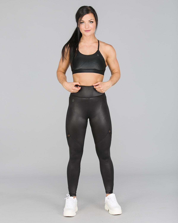 Workout Empire – Herrstedt Shine Leggings – Svart1