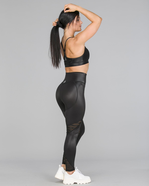 Workout Empire – Herrstedt Shine Leggings – Svart5