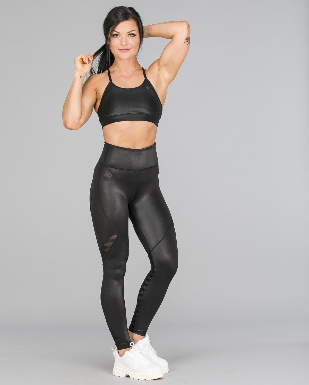 Workout Empire – Herrstedt Shine Leggings – Svart6