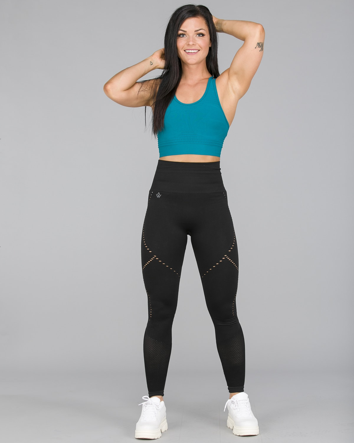 Workout Empire – Sculpt Leggings – Svart2