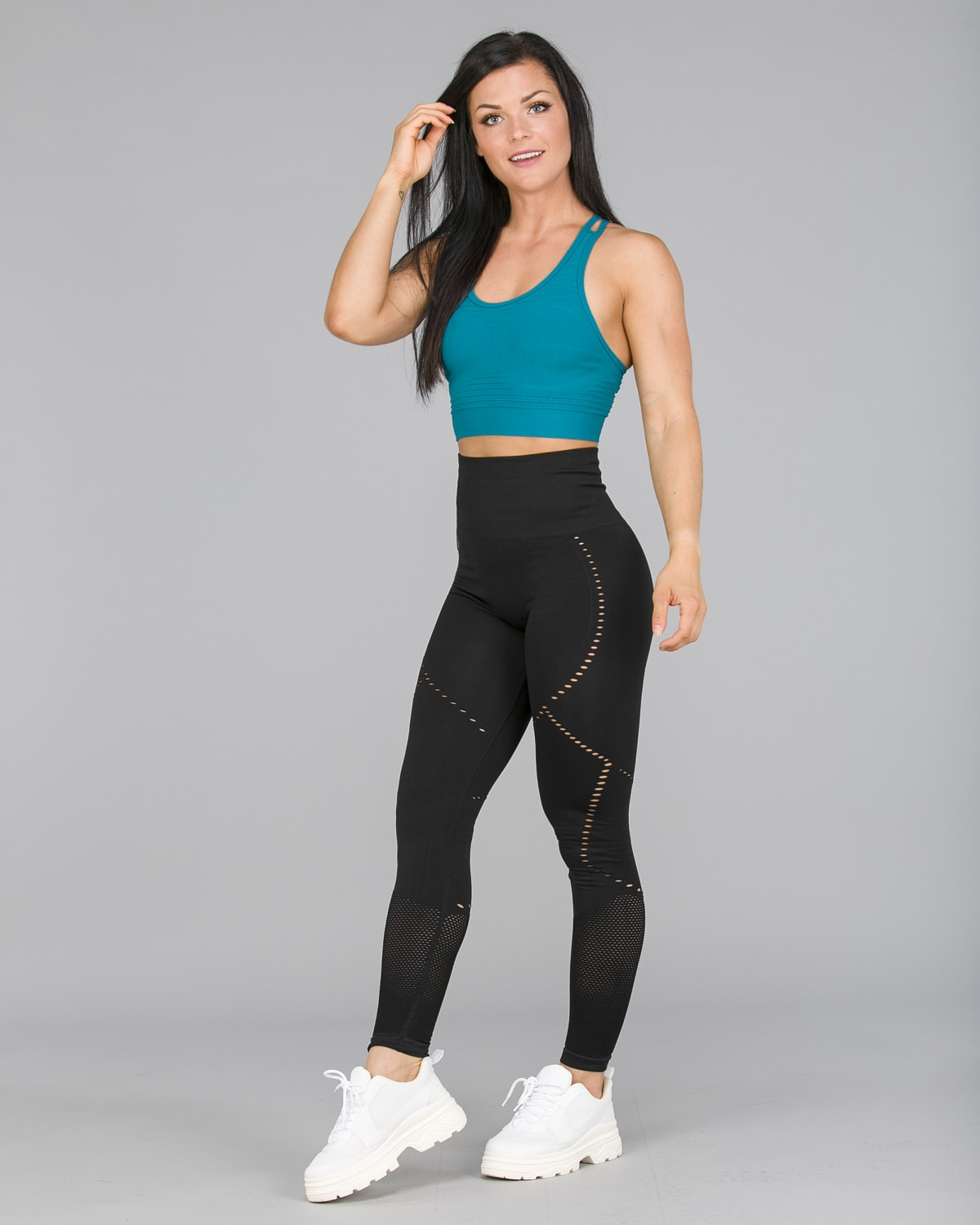Workout Empire – Sculpt Leggings – Svart3