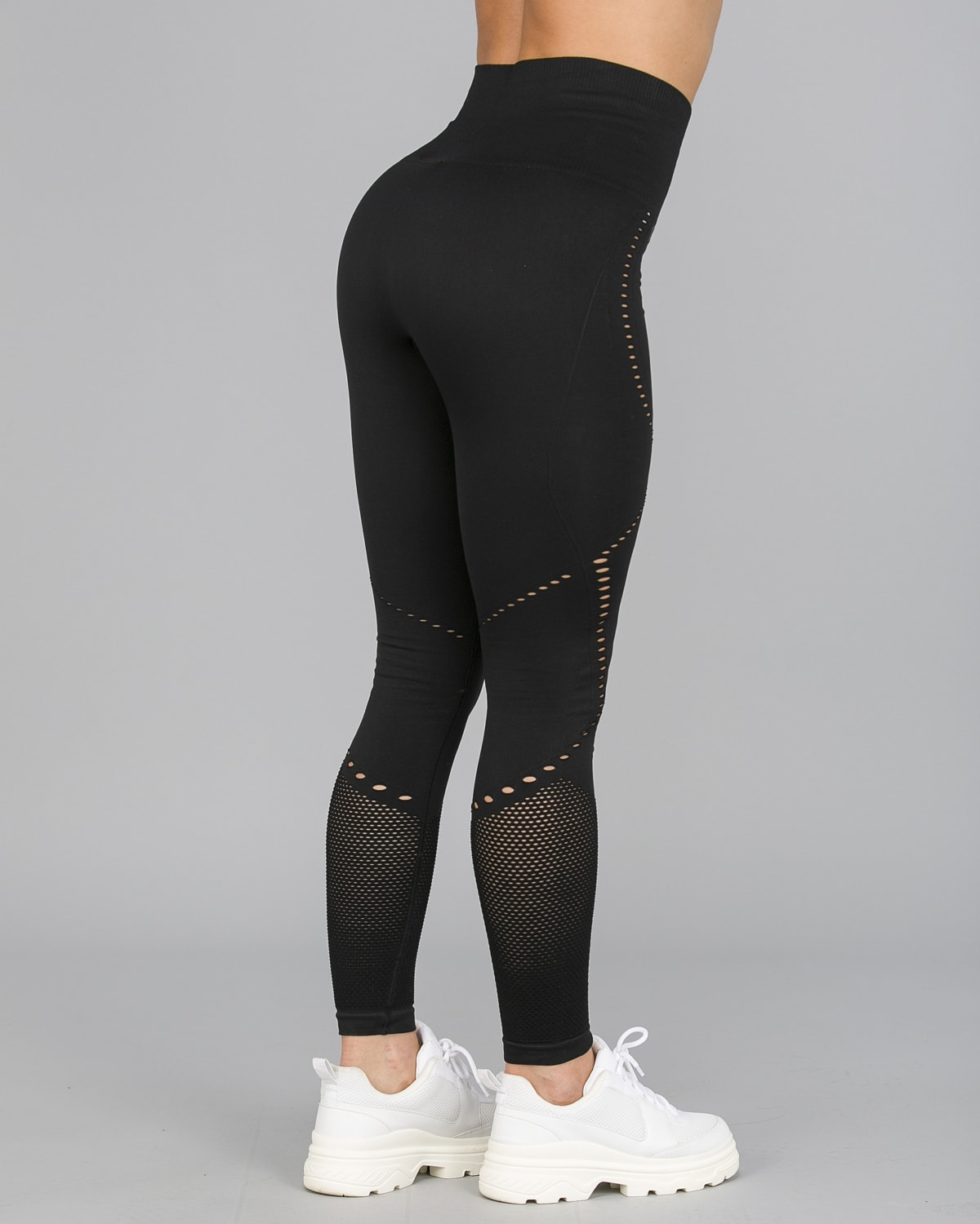 Workout Empire – Sculpt Leggings – Svart9