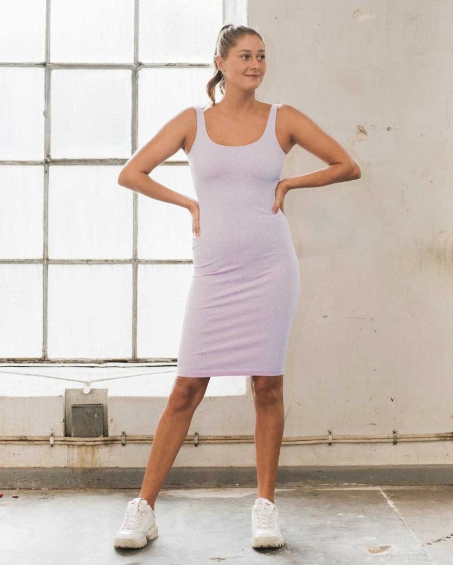 aimn_ribbed_purple_seamless_dress2