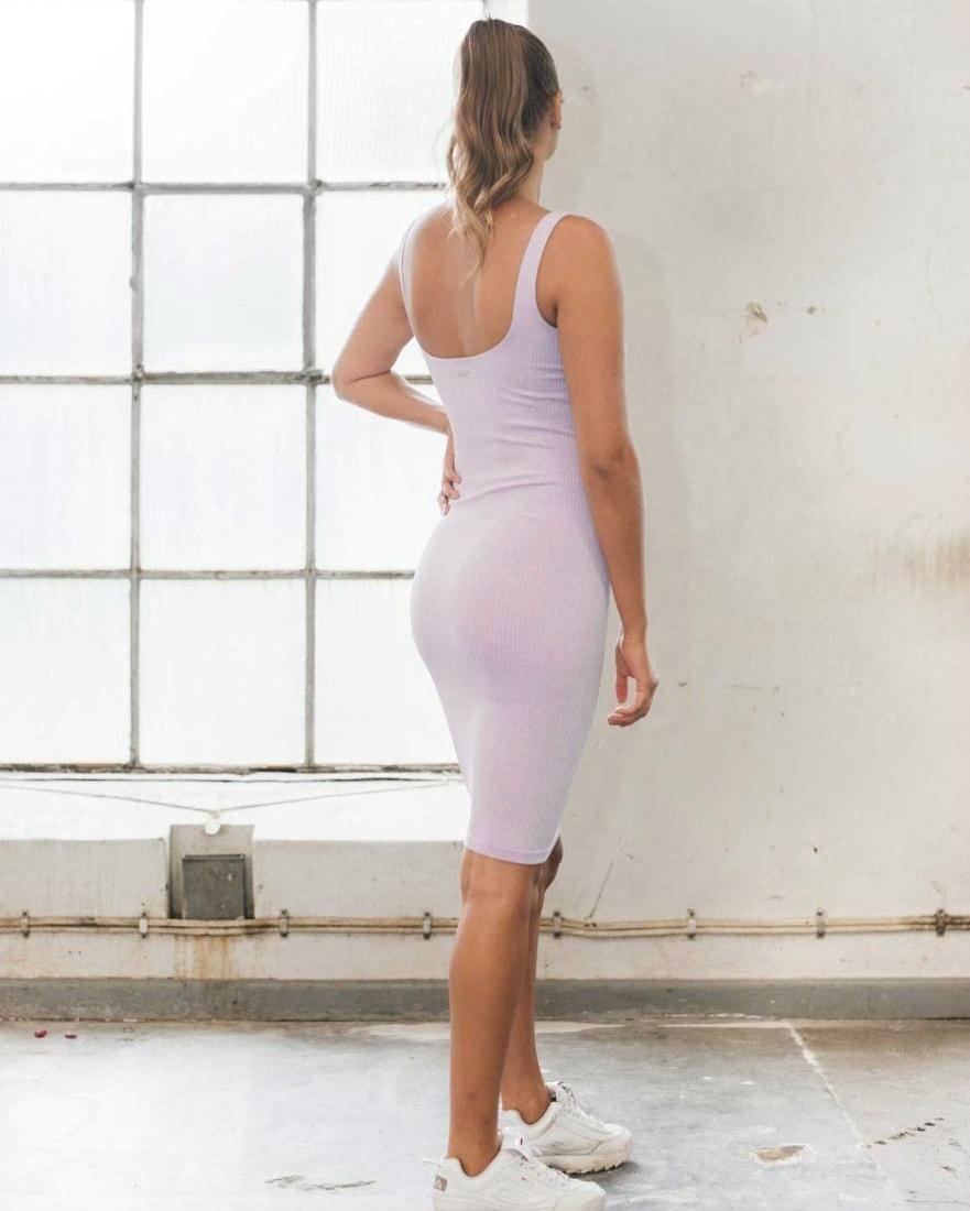aimn_ribbed_purple_seamless_dress4