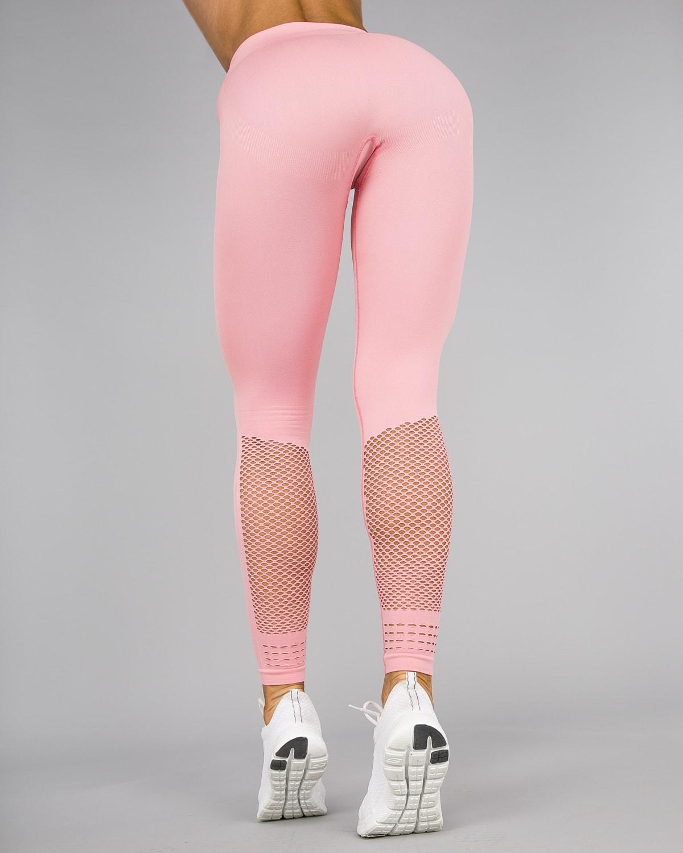 Smilodox – High Waist Airless Leggings – Pink15