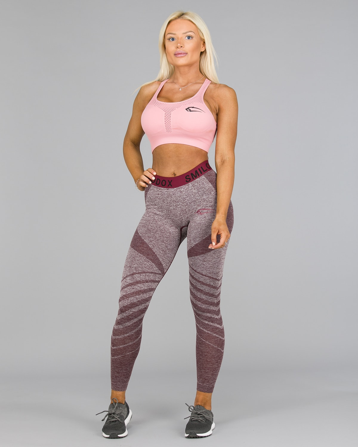Smilodox – Vira Leggings – Bordeaux1