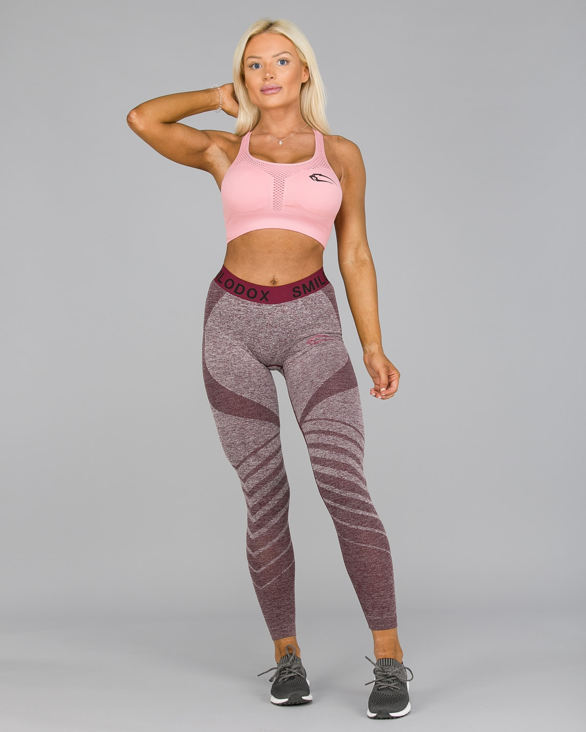 Smilodox – Vira Leggings – Bordeaux2