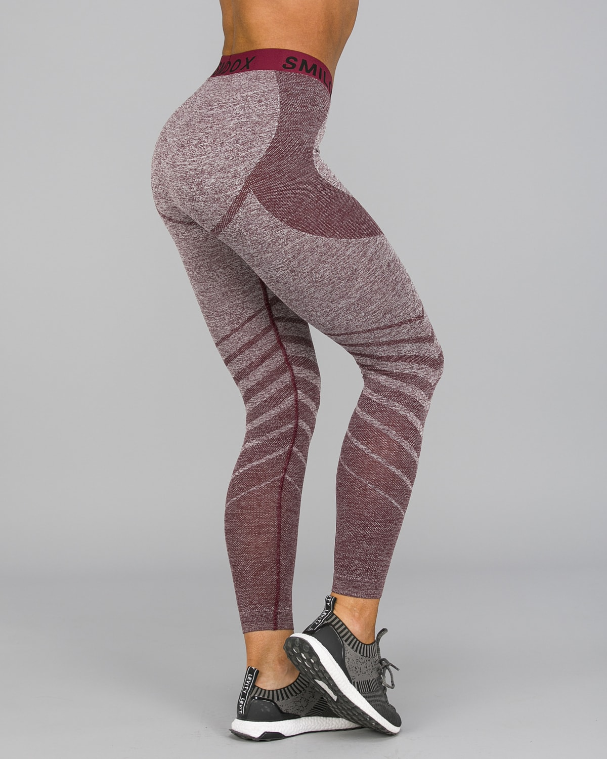 Smilodox – Vira Leggings – Bordeaux9
