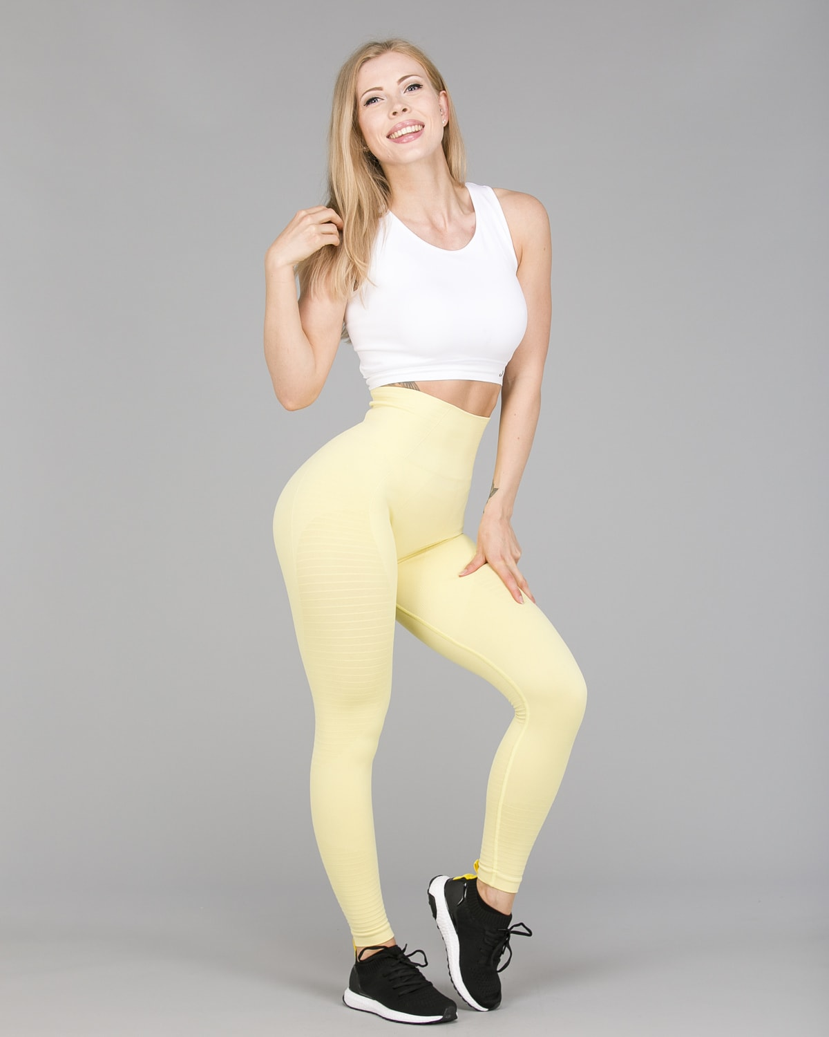Jerf Gela 2.0 Tights Yellow Pastel2