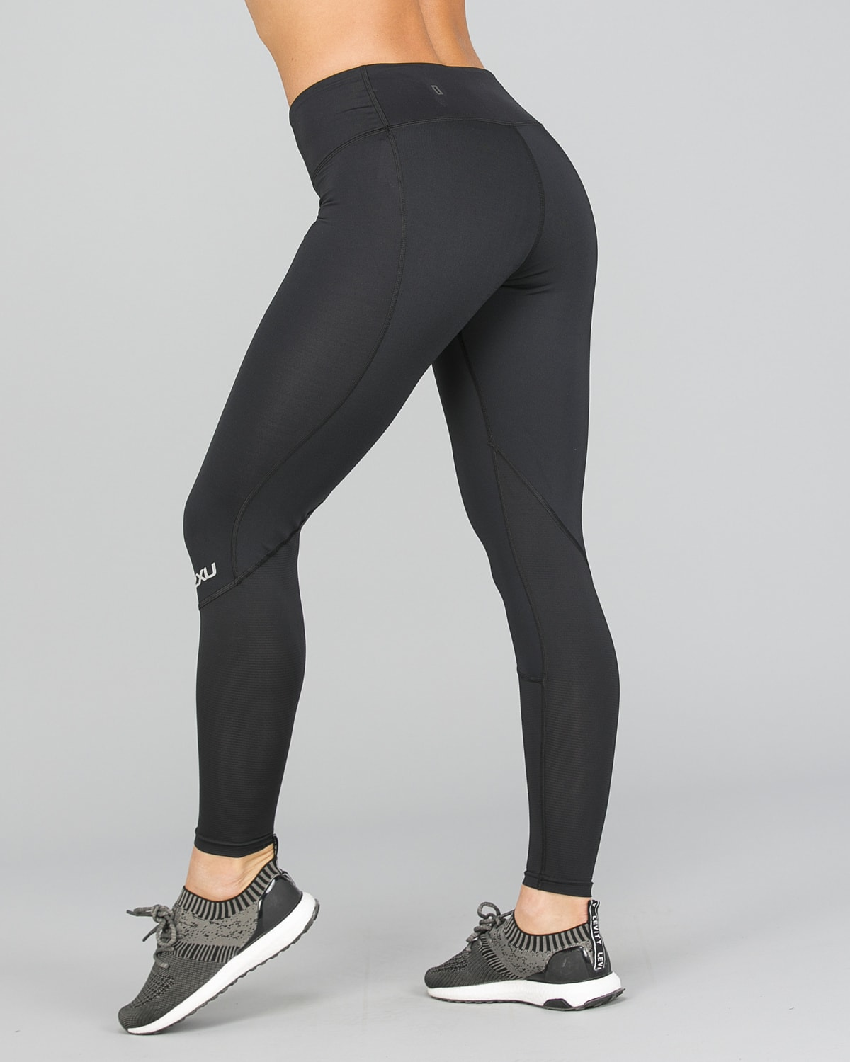 2XU Run Mid-Rise Dash Comp Tights Women – Black:Silver Reflective11