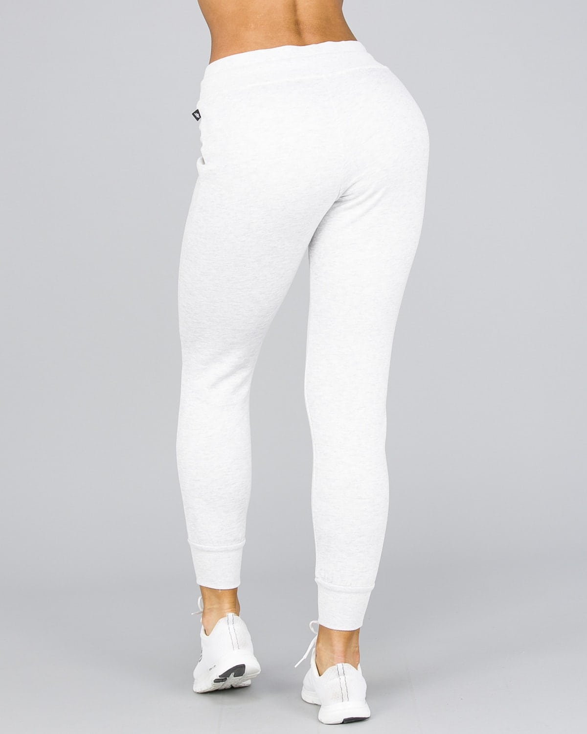 4F Fleece Pant Women – Light Grey Melange3