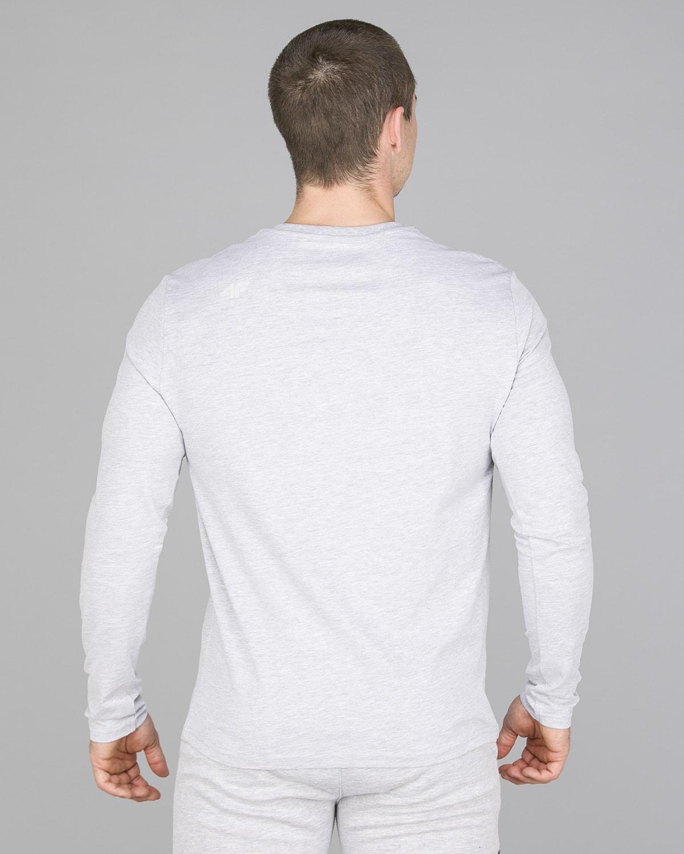 4F Long Sleeve Men – Light Grey Melange4