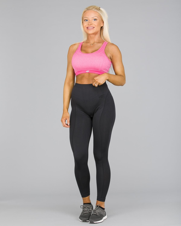 4F Seamless Pant Women – Black1