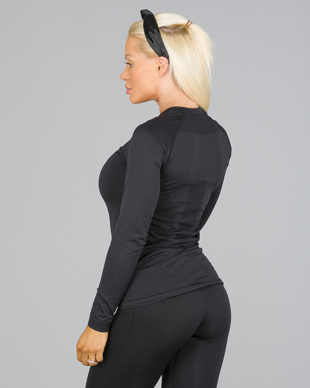 4F Seamless Top Women – Black4