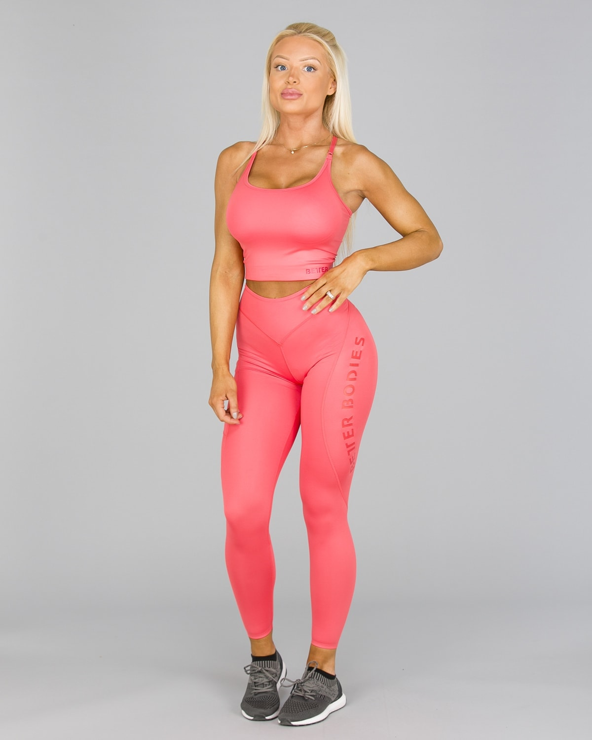 Better Bodies Vesey Tights Coral1