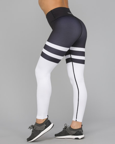 Black/White Tights