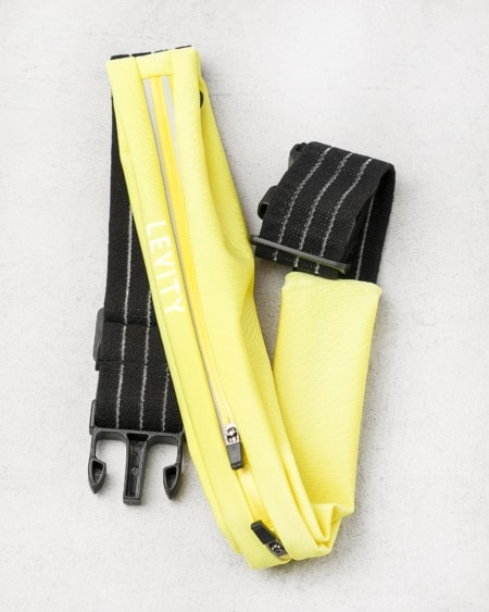 LEVITY Running Belt Løpebelte - Yellow & Black