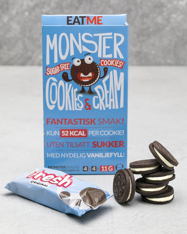 Monster Cookies Cream sugar free a