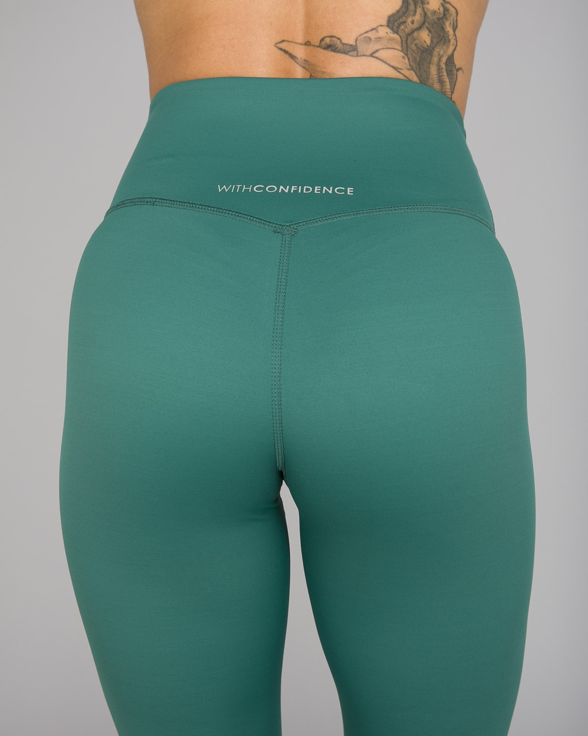 Workout Empire – With Confidence Shape Leggings – Emerald Green11